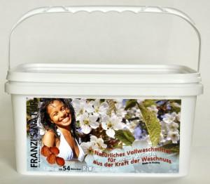 Waschnuss Waschpulver für WEISSE Wäsche
