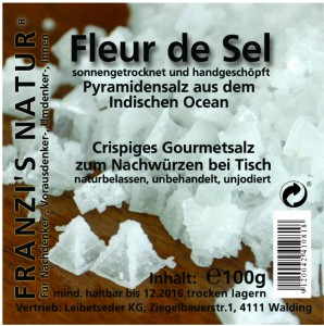 Fleur de Sel Pyramidensalz