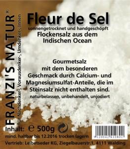 Fleur de Sel Flockensalz 500g